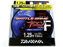 ダイワ(DAIWA) バトルゲーム ヤエンラインF(フロロ)  150m 1.25号