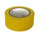(アイネット) 布テープ 50mm×25m ( DS7009K(黄) )ガムテープ DS7009K(黄)