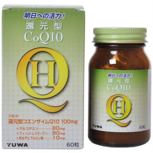 ユーワ 還元型コエンザイムQ10 60粒