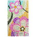 《フラワー/FLOWER》Wめちゃデコシール(ジュエリーシール+パーツシールの画像