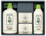 オリーブマノン オリーブの湯とボディシャンプー・石鹸のセット