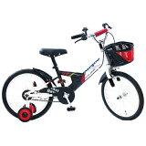 タマコシ 18型 幼児用自転車 ナビゲーターキッズ18 ホワイト/シングルシフト