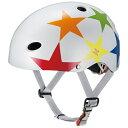 OGK子供用ヘルメット FR-KIDS スターホワイト/50~54cm FRKIDS