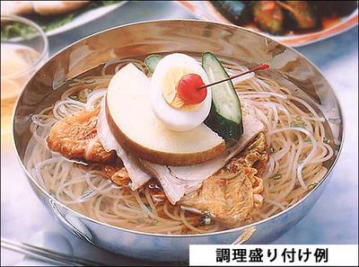 キムチでやせる 韓国冷麺8食と白菜キムチ500gセット