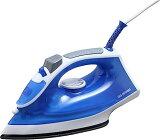 (アイロン スチーム)スチームアイロン(衣類 新生活)アイリスオーヤマ SIR-01A・ブルー