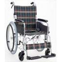 アルミ製ハンドブレーキ車椅子(自走式) 背折れタイプ セレクト50 KS50