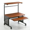 パソコンデスク ロータイプ フロアデスク ロー 座卓 座デスク  (W750) (木目柄) (100-DESK009)の画像