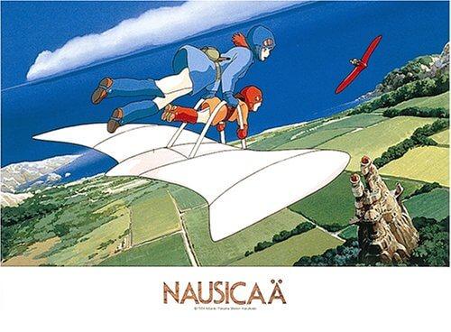 風の谷のナウシカの飛行シーン