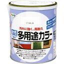 アサヒペン 水性多用途カラー ツヤ消し白 1.6L