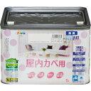 アサヒペン   水性インテリアカラー 屋内カベ用 シャーベットピンク (全15色)