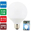 オーム電機 LEDボール球 密閉器具対応 全方向タイプ E26 5.7W 昼光色 LDG6D-G AG22
