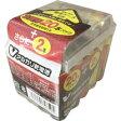OHM V-アルカリ乾電池単3形 22本パック 電池ケース付 LR6/S22P/V