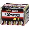 OHM Vアルカリ電池単3形 20本パック LR6/S20P/V
