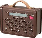 キングジム こはる マスキングテーププリンター MP10 ブラウン