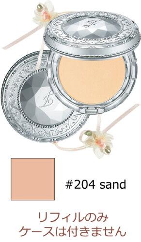 ジルスチュアート スムースシルクパウダーファンデーションN レフィル #204 sand 10g