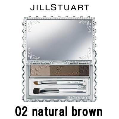 ジルスチュアート アイブロウパウダー #02 natural brown 2.5g