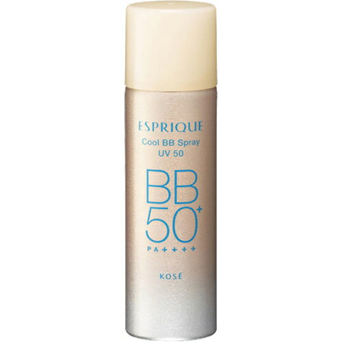 コーセー エスプリーク ひんやりタッチBBスプレーUV50 02標準的な肌色 SPF50+ PA++++ 60g