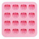 川嶋工業 シリコン チョコレート&プチケーキモールド こぶたピンクの画像