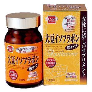 健康フーズ 大豆イソフラボン250mg