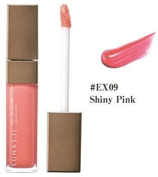 LUNASOL ルナソル フルグラマーリクイドリップス #EX09 Shiny Pink