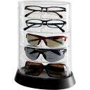 シンコハンガー メガネコレクションケース アイコレクタワー ブラックの画像