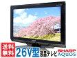 SHARP AQUOS 地上・BS・110度CSデジタル  液晶テレビ E 26型 LC-26E7-B ブラック