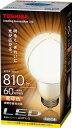 東芝LED電球 E-CORE 一般電球形・全光束810lm 電球色・口金E26 LDA11L-Gの画像