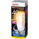東芝 LED電球 LDT6L-G/S/40W 電球色