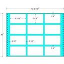 東洋印刷 タックフォームラベル 13 3/10インチ ×10インチ 12面付(1ケース500折) M13L