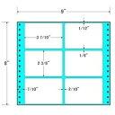 東洋印刷 タックフォームラベル 9インチ ×8インチ 6面付(1ケース500折) M9R