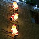 タカショー 屋外イルミネーション 「ブローライトはしごサンタS 3P」 ≪LED:シャンパンゴールド≫
