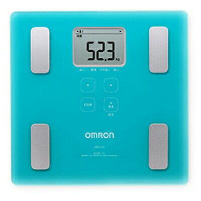 オムロン 体重体組成計 カラダスキャン HBF-214-B ブルー