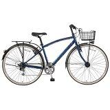 MARUKIN27型 自転車 ノスタリア276-G ブルー/6段変速 MK-14-025 MK14025