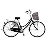 MARUKIN26型 自転車 レイニーホームHD261-G ブラック/シングルシフト MK-14-047 レイニーホームHD261G