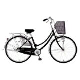 MARUKIN27型 自転車 レイニーホームHD273-G ブラック/3段変速 MK-14-050 レイニーホームHD273G