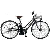 MARUKIN27型 電動アシスト自転車 レアルタシティ ハイブリッド273-G マットブラック MK-14-046 レアルタシティHB273G