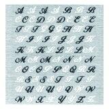 SHO-BI ネイルシールアルファベット W&B