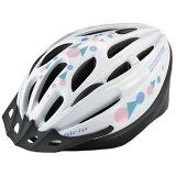 ブリヂストン子供用ヘルメット エアリオ(ホワイト/5660cm)CHNA5660(B371355WH)
