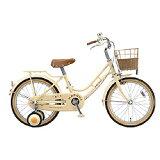 ブリヂストン16型 子供用自転車 ハッチ アイボリー HC162 HC162
