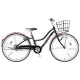 ブリヂストン22型 子供用自転車 ワイルドベリー ブラックパンサー/シングルシフト WB204 WB204