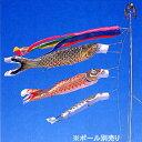 【鯉のぼり】6点セット ゴールド 5.0m(555022)