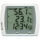A&D A&D エー・アンド・デイ 時計付き温湿度計 AD5681 3306739の画像
