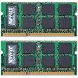 バッファロー PC3-12800(DDR3-1600)対応 204PIN DDR3 SDRAM S.O.DIMM 8GB(4GB×2) D3N1600-4GX2/E