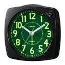 Gクラッセ 置き時計 目覚まし時計 スタンダード めざまし時計 ブラック YT5220BK