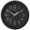 シンプル掛時計ブラック YW9124BK