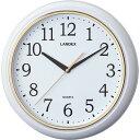 連続秒針のシンプル掛時計 YW9125WH(RW)