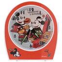 ヴィンテージ アラームクロック  クラシック (ミッキーマウス/ミニーマウス) ディズニー (OR)
