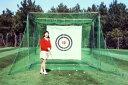 リターン式で楽々南栄工業 練習用ゴルフネット GNR320