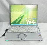 Panasonic Let'sNote CF-W4 GW9AXS(MAR/TI)PenM1.2/512/40/DVDマルチ/無線LAN/XPhome