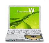 パナソニック レッツノートW9(C2D-SU9600、Win7 Pro 32bit、無線LAN、スーパーマルチ) /CF-W9JWECDS